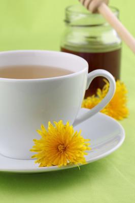 蜂蜜蒲公英茶