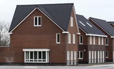 在荷兰的新建房子。