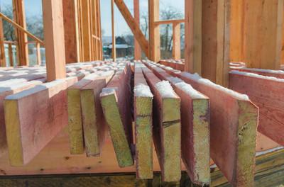木框架房屋的施工