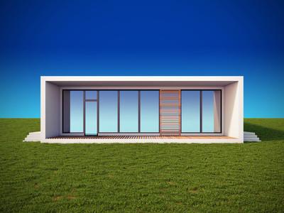 现代简约风格的房子