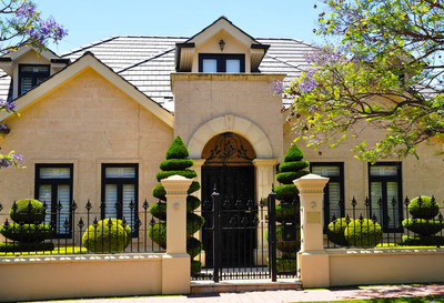 澳大利亚家庭住宅门面的典型例子