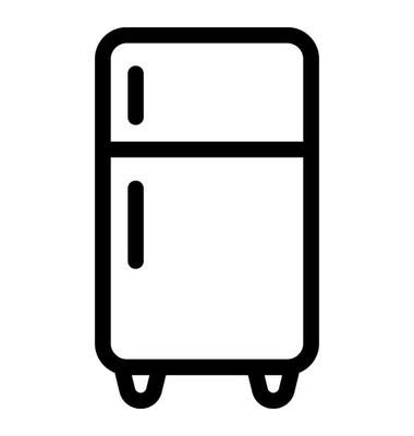 冰箱里矢量图标