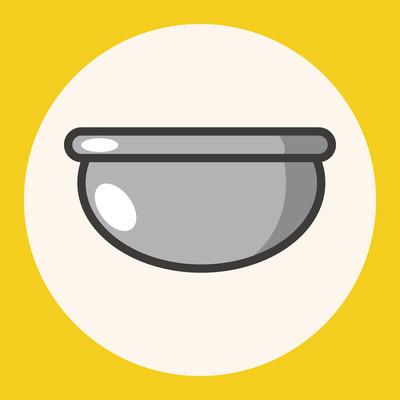 厨具碗主题元素图标元素