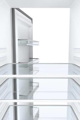 空冰箱, 从里面看