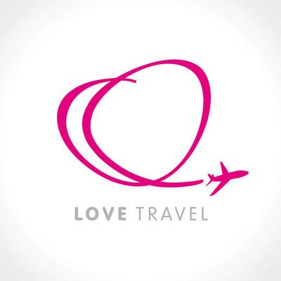 爱旅行公司徽标