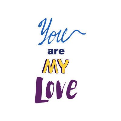 涂鸦刻字关于爱情