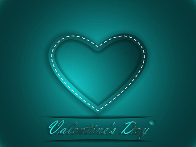 爱。情人节那天。爱的宣言