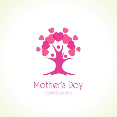 母亲节那天树爱标志