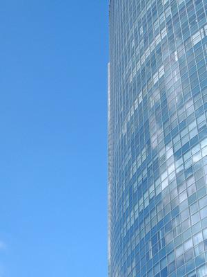 摩天大楼的窗户