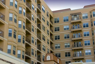 现代市中心公寓