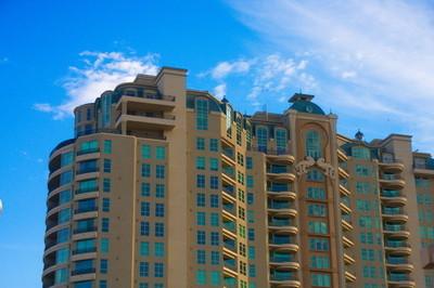 顶部的豪华公寓下早上 sky.jpg