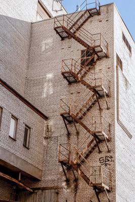 火灾逃生楼梯