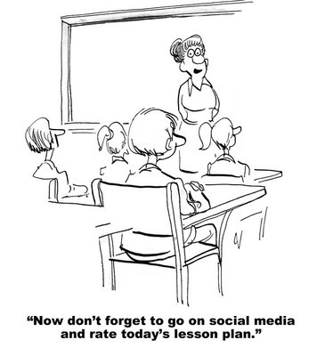 Rate Teacher's Lesson Plan on Social Media