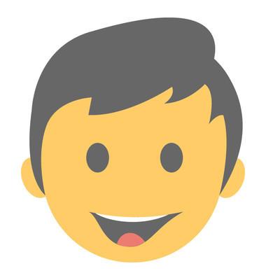 平面图标设计微笑