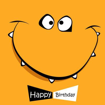 生日快乐的微笑