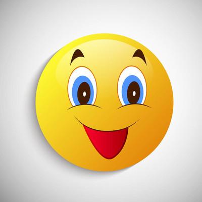 世界微笑日背景的插图