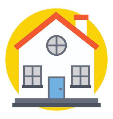 房屋的平面图标设计