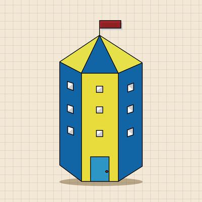建设主题元素矢量、 eps