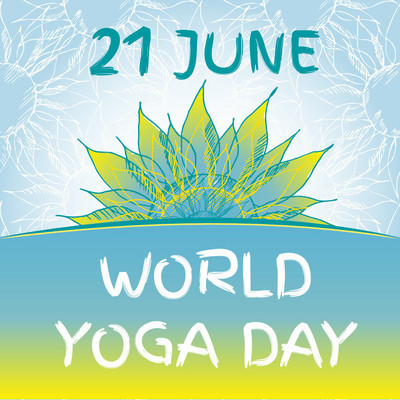 Yoga world day.
