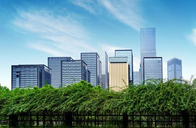中国重庆的摩天大楼