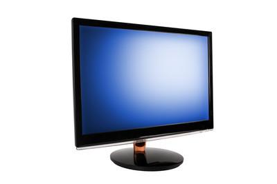 宽 led 的电脑显示器