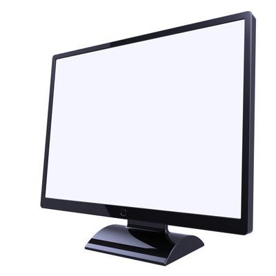 显示器屏幕空白显示基本