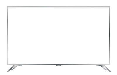 4k 电视矢量屏幕。Uhd 标志。电视超高清分辨率格式矢量 eps 10