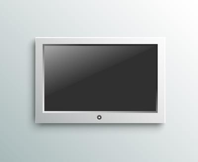 带领电视机挂上背景墙上的监视器