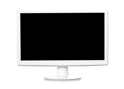 白色监视器