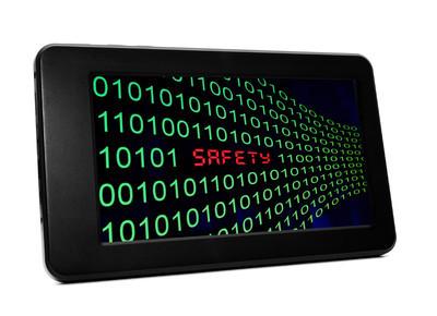 在 pc tablet 上的安全文本
