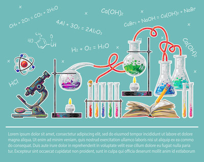 Science Colored Poster