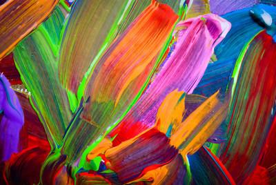 抽象艺术背景。手绘的背景。自作