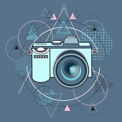 Photo Camera Photography Abstract Triangular