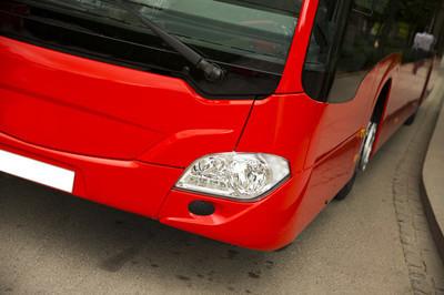 新现代城市公交车
