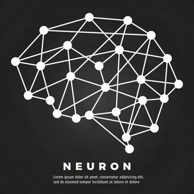 脑神经网络海报设计