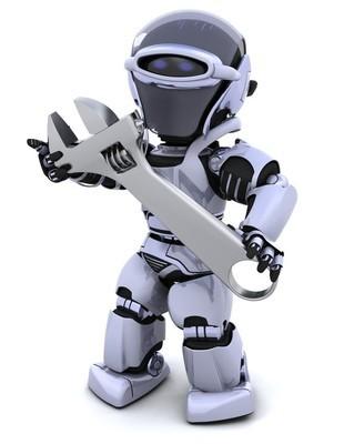 机器人和可调扳手