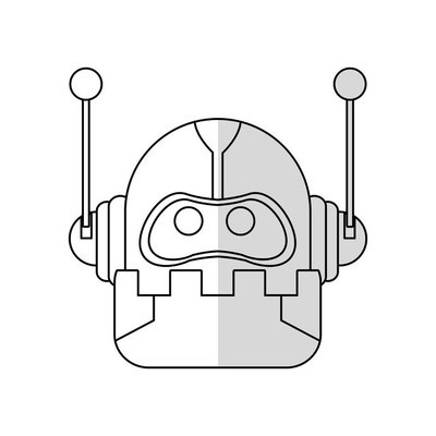 机器人卡通图标