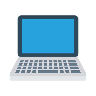 便携式计算机图标矢量图