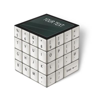 多维数据集键盘