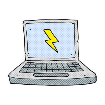 卡通便携式计算机