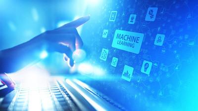 机器深度学习算法、人工智能人工智能、自动化和现代技术在商业中的概念