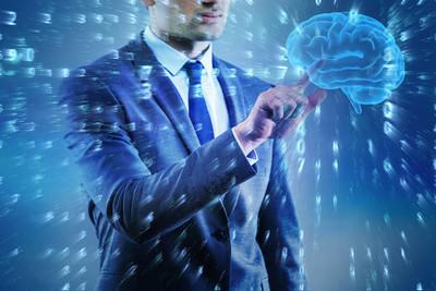 商人在人工智能概念
