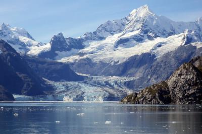 杰里冰川,阿拉斯加