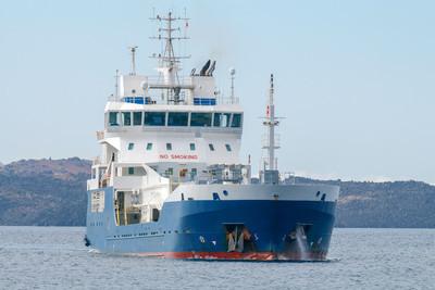 在地中海的船油轮
