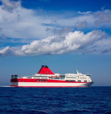 地中海 curise 在红船
