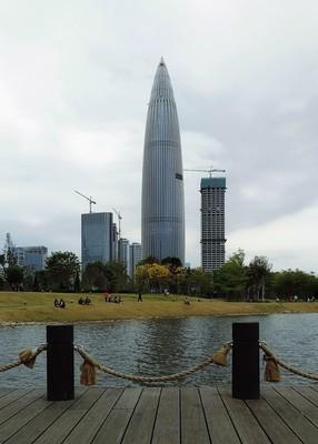 摄于深圳人才公园