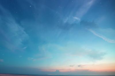 新天空云朵背景