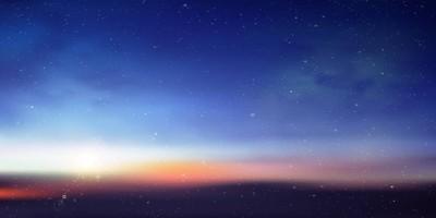 天空行星空间背景