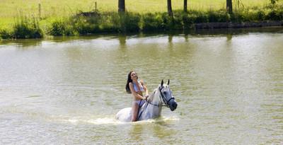 上水通过骑马马术