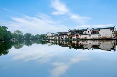 安徽黟县宏村南湖